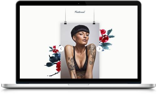 SITO WEB PER STUDIO TATTOO