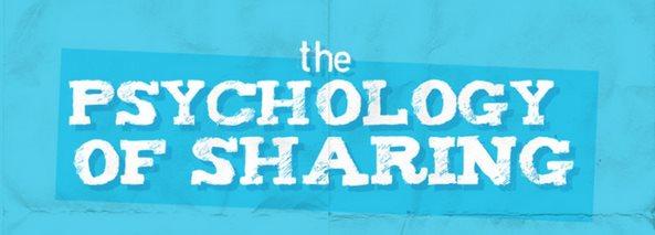 Psicologia dello Sharing: cosa condividi e perché