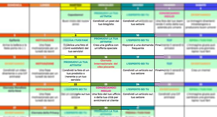6 calendari, strumenti e modelli di social media per pianificare i tuoi contenuti